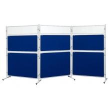 Modrá tabule textilní 120x180, k paravanu