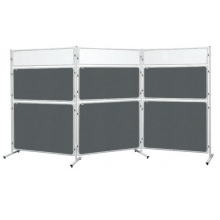 Panel 2x3 Modular, 120 x 90 cm, filcový šedý