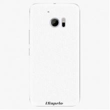 Plastový kryt  - 4Pure - bílý - HTC 10