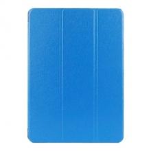 Kožený kryt / pouzdro Smart Cover  pro iPad Air 2 modrý