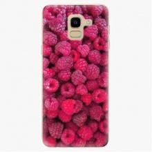 Plastový kryt  - Raspberry - Samsung Galaxy J6