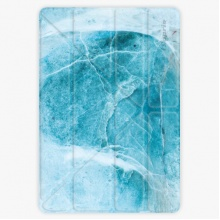 Pouzdro  Smart Cover - Blue Marble - iPad 9.7″ (2017-2018)