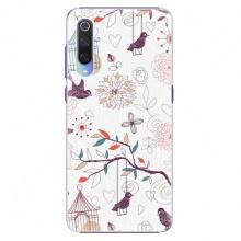 Plastový kryt  - Birds - Xiaomi Mi 9