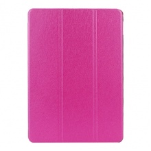 Kožený kryt / pouzdro Smart Cover  pro iPad Air 2 růžový