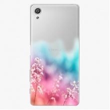 Plastový kryt  - Rainbow Grass - Sony Xperia X