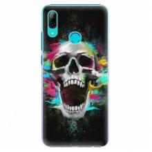 Plastový kryt  - Skull in Colors - Huawei P Smart 2019
