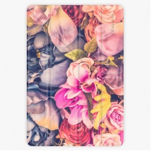 Pouzdro  Smart Cover - Beauty Flowers - iPad 2 / 3 / 4