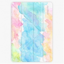 Pouzdro  Smart Cover - Watercolor 02 - iPad 9.7″ (2017-2018)