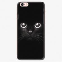 Silikonové pouzdro  - Black Cat - iPhone 7 Plus