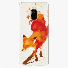 Plastový kryt  - Fast Fox - Samsung Galaxy A8 2018