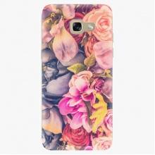 Silikonové pouzdro  - Beauty Flowers - Samsung Galaxy A5 2017