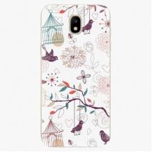 Silikonové pouzdro  - Birds - Samsung Galaxy J5 2017