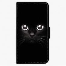 Flipové pouzdro  - Black Cat - Huawei P9