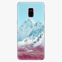 Plastový kryt  - Highest Mountains 01 - Samsung Galaxy A8 Plus