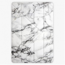 Pouzdro  Smart Cover - White Marble - iPad 2 / 3 / 4