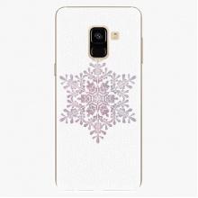 Plastový kryt  - Snow Flake - Samsung Galaxy A8 2018