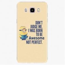 Silikonové pouzdro  - Be Awesome - Samsung Galaxy J5 2016