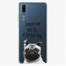 Silikonové pouzdro  - Better Day 01 - Huawei P20