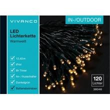 Vivanco světelný řetez 120LED 38046