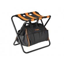 Skládací židle s taškou na nářadí VILLAGER