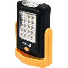 VOREL montážní kapesní LED svítilna s magnetem 20+3 LED