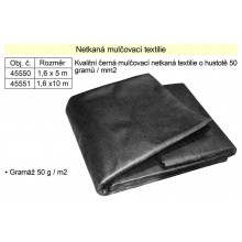 Netkaná textilie mulčovací 1,6x5m 50g/m2