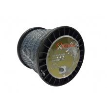 Struna s výztuhou, točený 4-hran, 100m 2,4mm MAR-POL