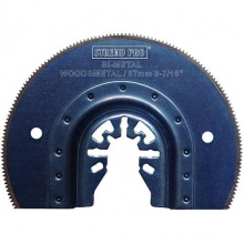 Pilový list kruhový 87mm HSS Bi-Metal nástroj pro oscilační multifunkční brusky