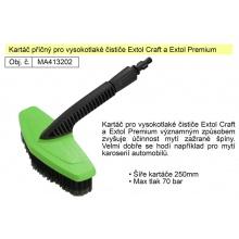 Kartáč příčný pro vysokotlaké čističe Extol