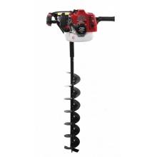 Motorový zemní půdní vrták 3,6kW + 3 vrtáky POWERMAT