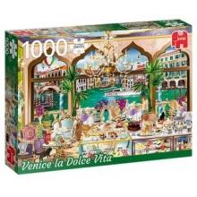 JUMBO Puzzle Sladký život v Benátkách 1000 dílků