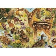 JUMBO Puzzle Mláďata divočiny 1000 dílků