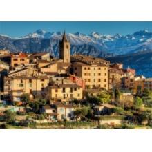 JUMBO Puzzle Alpy u Azurového pobřeží 1000 dílků