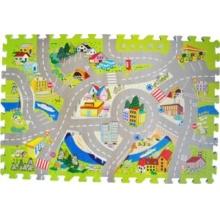 LC Pěnové puzzle Silnice se značkami