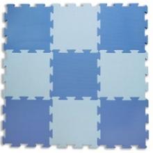 LC Pěnový koberec extra modrý 0+