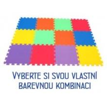 MALÝ GÉNIUS Pěnový koberec MAXI 12, 8mm (mix-6)