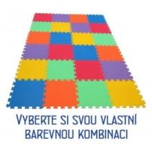 MALÝ GÉNIUS Pěnový koberec MAXI 24, 8mm (mix-6)