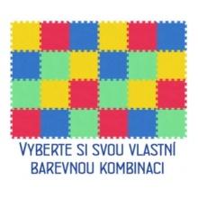MALÝ GÉNIUS Pěnový koberec MAXI 24, 8mm (mix-4)