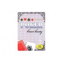 Hra karetní Albi Poker červené