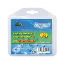 Tester na pH a chlor LAGUNA Oxi kapkový