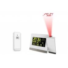 Meteorologická stanice s projekcí a měřením vnitřní a vnější teploty WT 549