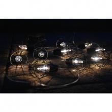 10 LED solární osvětlení - lucerny