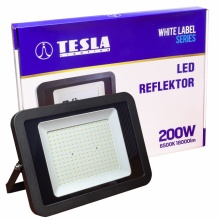 FL420265-6 Tesla - LED reflektor, 200W, 18000lm, 230V, 6500K, 25 000h, CRI >70, IP65, 110°