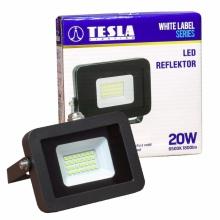 FL132065-6 Tesla - LED reflektor, 20W, 1800lm, 230V, 6500K, 25 000h, CRI >70, IP65, 110°