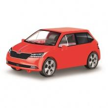 Stavebnice Škoda Fabia model 2019, 1:35, 75 k (od 5 let)