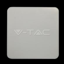 VT-8033-5567 V-TAC - LED stropní svítidlo, 15W, 230V, 1250lm, 30 000h, 4000K, Ra≥80, 110° IP44 čtverec
