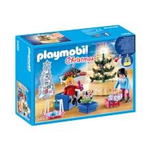PLAYMOBIL Vánoční obývací pokoj 9495