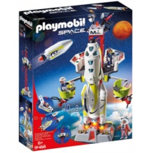PLAYMOBIL Mars - raketa se startovací rampou 9488