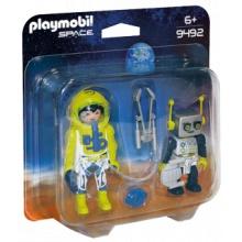 PLAYMOBIL Duo Pack Kosmonaut a robot 9492