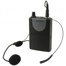 QTX náhlavní sada VHF pro QR+QXPA reproduktory, 175 MHz